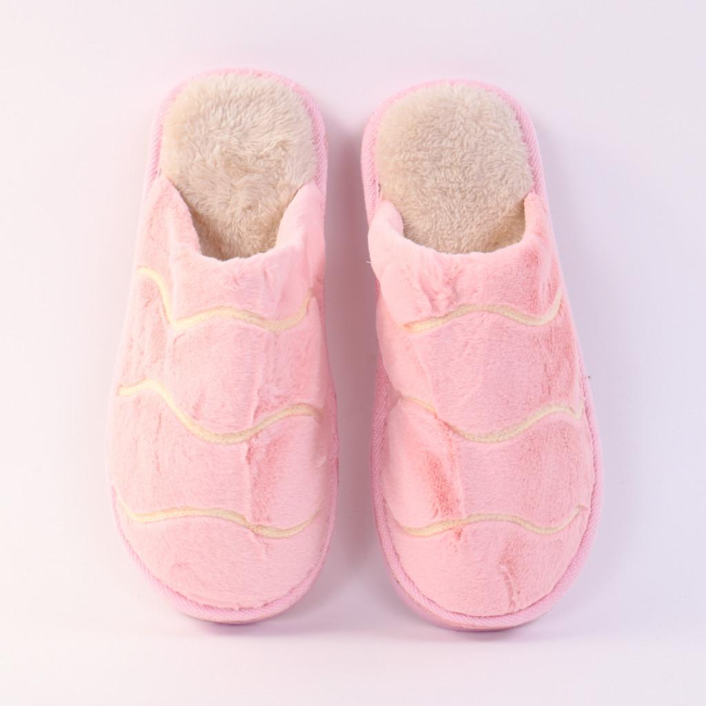 Papuci cu dungi roz Giza